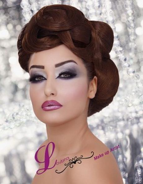 chignon libanais mariage maquillage libanais professionnel - Maquillage Libanais Mariage