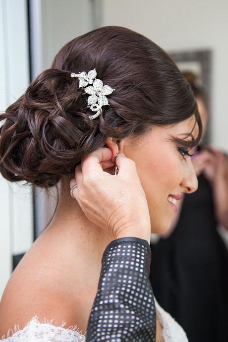 maquillage libanais et chignon mariée \u2013 orientale passion
