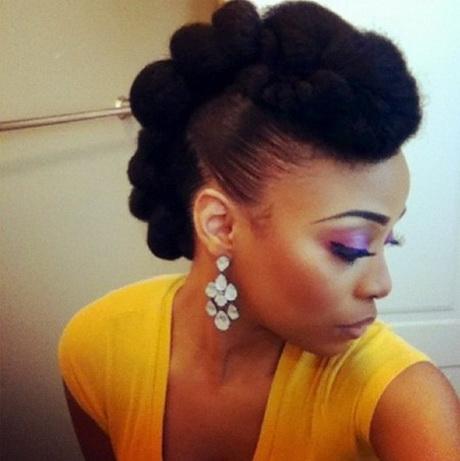 Coiffure mariage sur cheveu afro \u2013 Coiffure et maquillage