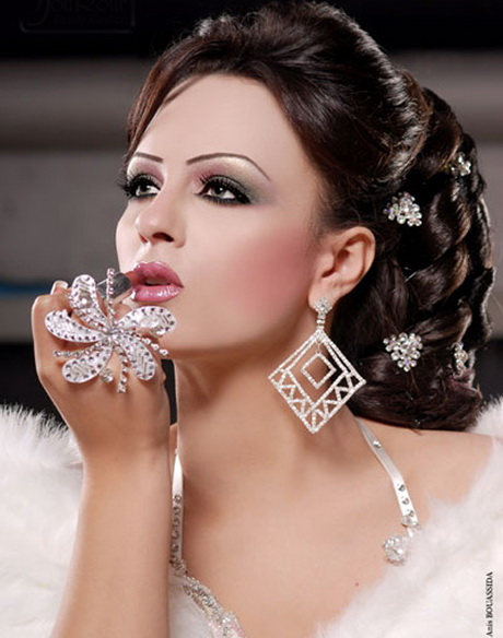 Chignon mariage tunisien for Salon de coiffure afro antillais 94