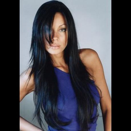 coupe de cheveux mi long femme noire