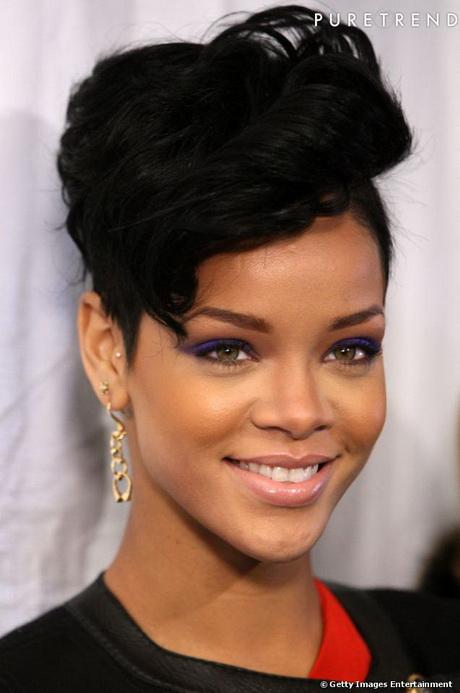 Coiffure De Rihanna Court