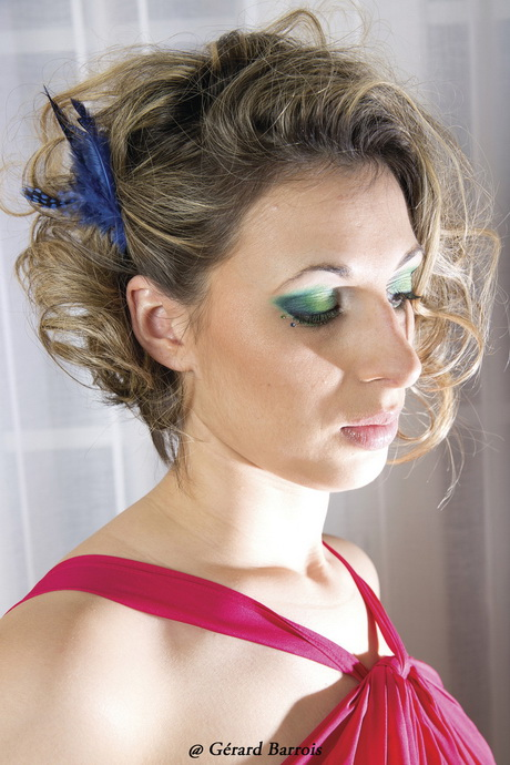 Coiffure mariage carre plongeant - Coiffure carre mariage ...