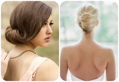 Duel de coiffures de mariée  chignon glamour VS chignon banane