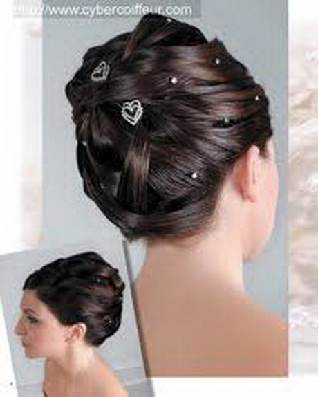 coiffure pour mariage chignon. Black Bedroom Furniture Sets. Home Design Ideas