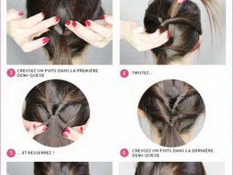 Coiffure simple et rapide pour cheveux long - Coiffure simple et rapide cheveux court ...