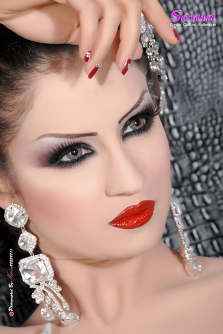 Coiffure tunisienne mariage for Salon coiffure tunis