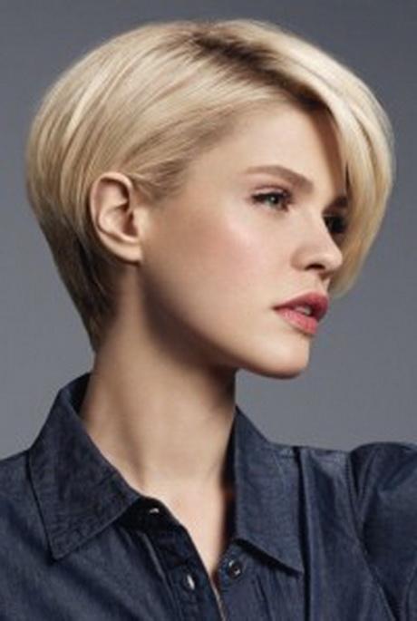 Coupe boule courte - Coupe femme courte blonde ...
