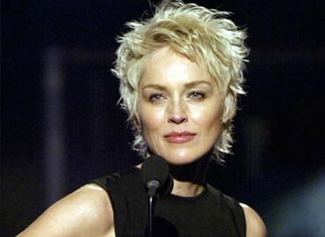 Coupe Courte Sharon Stone
