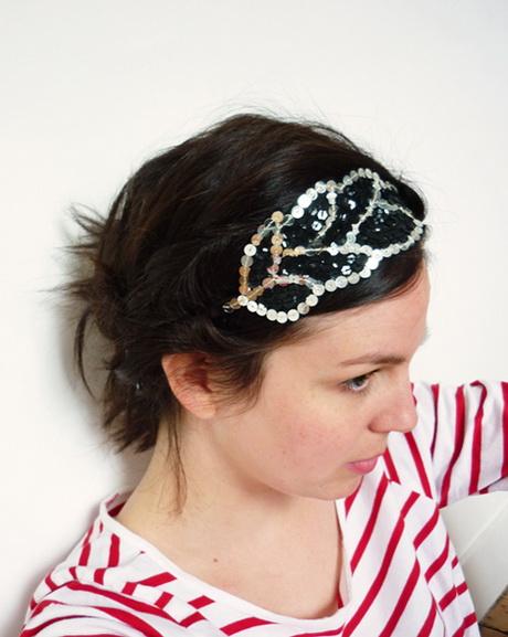 headband cheveux courts. Black Bedroom Furniture Sets. Home Design Ideas