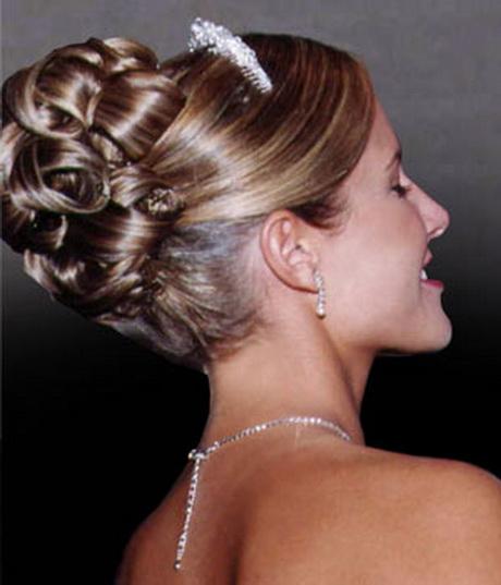 Modele coiffure chignon
