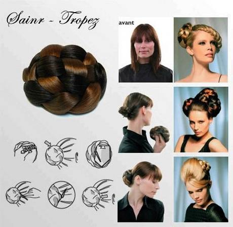 chignon de cheveux pour mariage balmain elegance chignon saint - Postiche Chignon Mariage