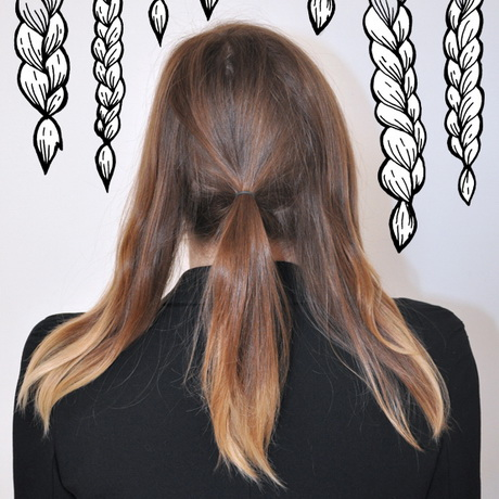 Tuto coiffure cheveux mi long simple et rapide for Coupe cheveux long et raide