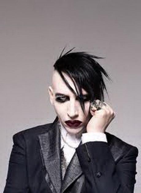 coiffure gothique homme