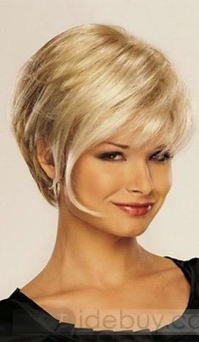 coiffure originale carre plongeant; coiffure femme cheveux courts tendance