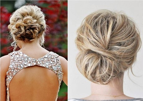 Chignons mariees Chignon mariee bas