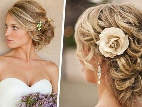 Coiffure pour mariage cheveux long chignon
