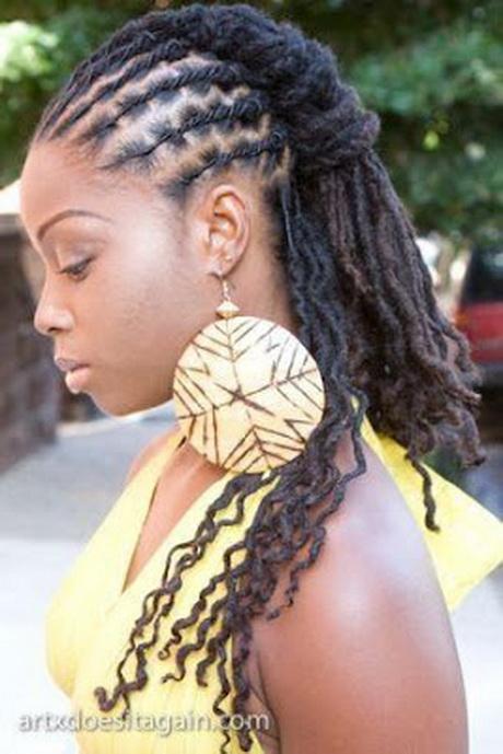 Idées coiffures sur longues locks \u2013 Beauté Femme Noire BFN