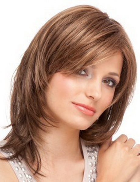 coiffure femme effile mi long