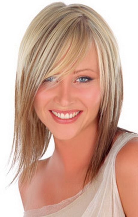 Coupe de cheveux effil mi long - Coupe cheveux long blond ...