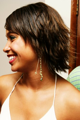 Coiffure courte africaine - Coupe afro courte femme ...