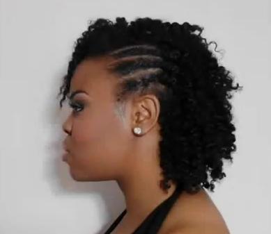 coiffure pour cheveux africain