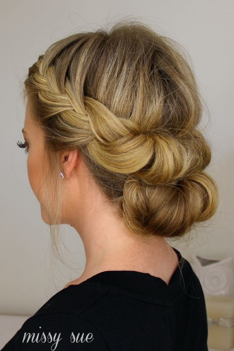 Idees chignons pour mariage - Idee chignon mariage ...