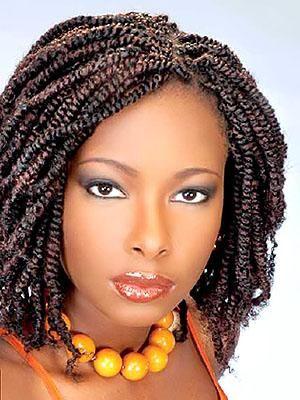 Modele Coiffure Afro Antillaise
