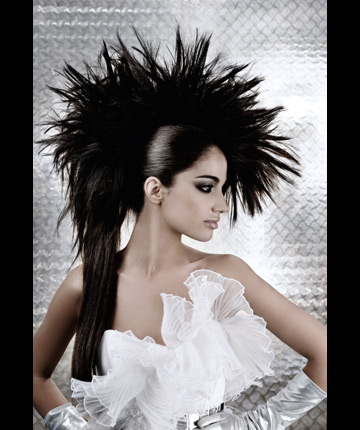 modele de coiffure chignon pour mariage. Black Bedroom Furniture Sets. Home Design Ideas