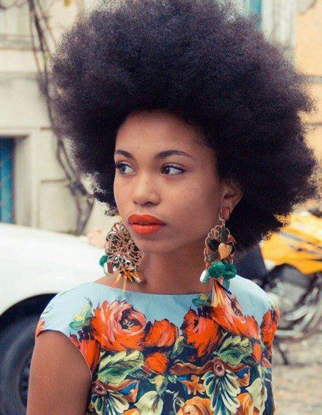 Coiffure Cheveux Naturel Black