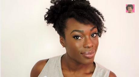 Coiffure Cheveux Naturels Femmes Noires