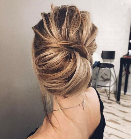 Coiffure mariage cheveux mi long 2018 - Coiffure mariage cheveux mi long laches ...