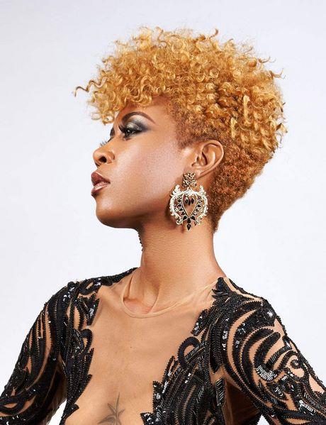Coupe courte pour cheveux crepus femme - Coupe courte afro naturel ...