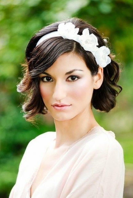 headband cheveux courts mariage. Black Bedroom Furniture Sets. Home Design Ideas