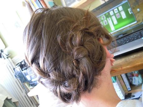 Chignon Cheveux Mi Court