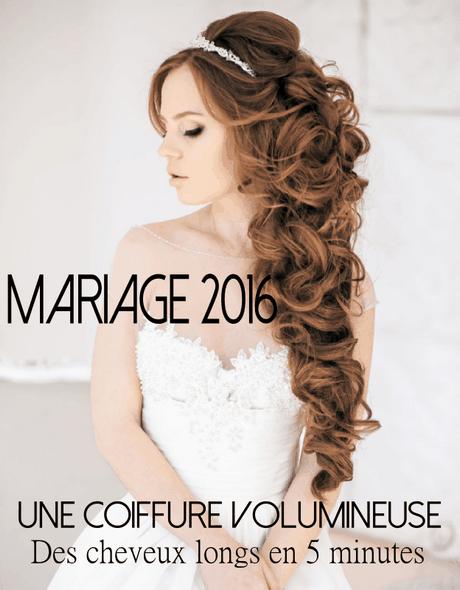 Coiffure mariage long bouclu00e9