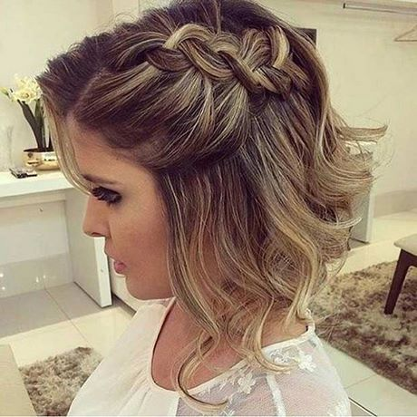 coiffure simple cheveux court pour mariage. Black Bedroom Furniture Sets. Home Design Ideas