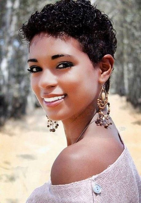 Coupe de cheveux afro americaine femme