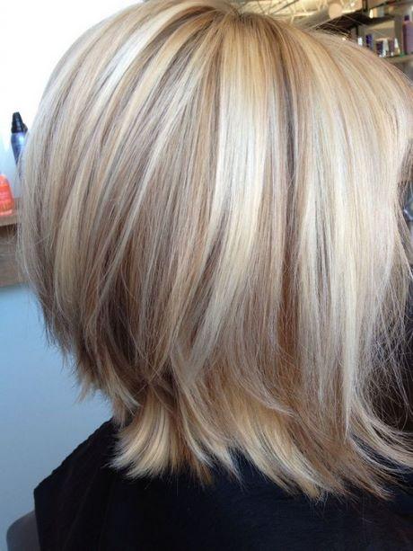 Coupe De Cheveux Carr 233 Blond