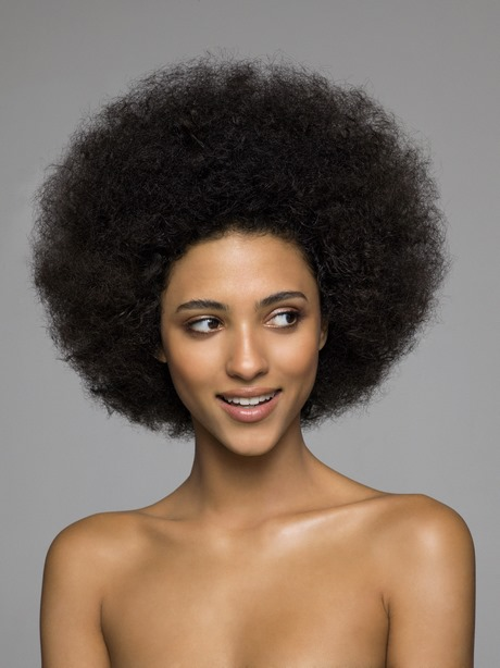 Idée coiffure afro femme