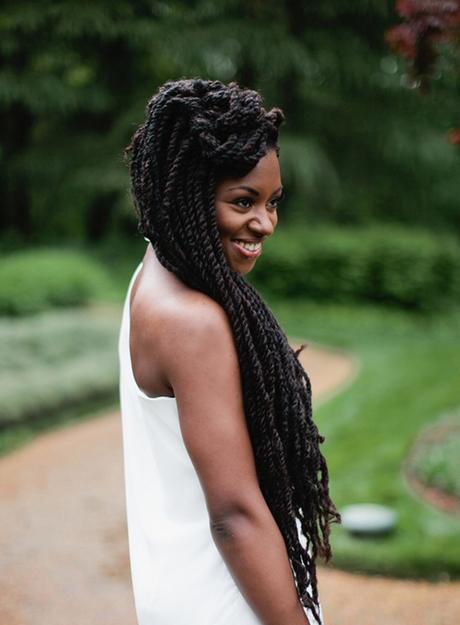 id u00e9e coiffure mariage tresse