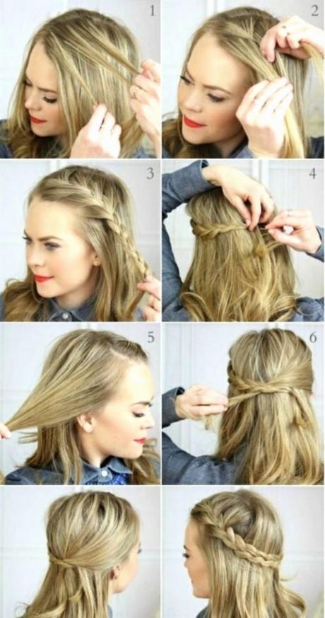 Idees de coiffure cheveux mi long