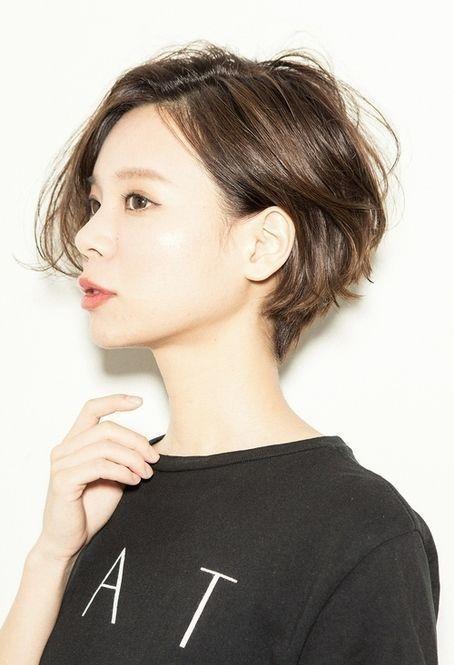 Style de coiffure femme cheveux court