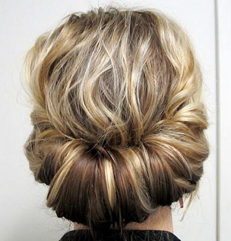 Tuto coiffure chignon bas
