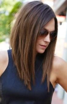 coiffure carre plongeant long