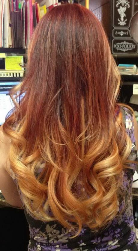 Couleur pour cheveux long Cheveux couleur caramel adoucir visage