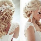 Coiffure chic cheveux long