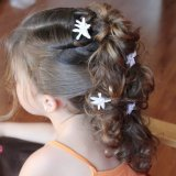 Coiffure mariage fille