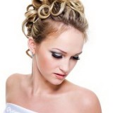 Coiffure mariage moderne