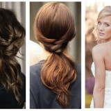Coiffure simple mariage